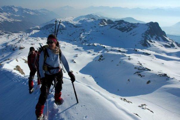 Glacier de l'Etendard, Savoie
