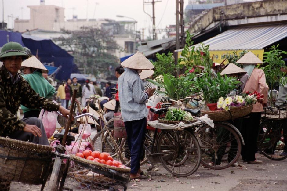 Cyclo marché
