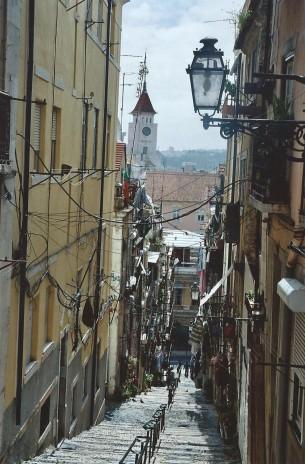 Lisbonne et ses escaliers...