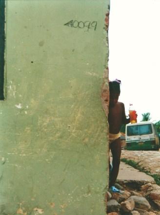 Jeune cubaine en exploration (mai 2000)