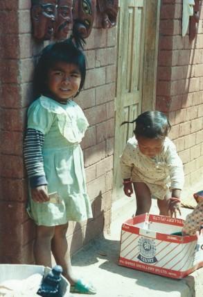 Bhaktapur, Népal (mars 2000)