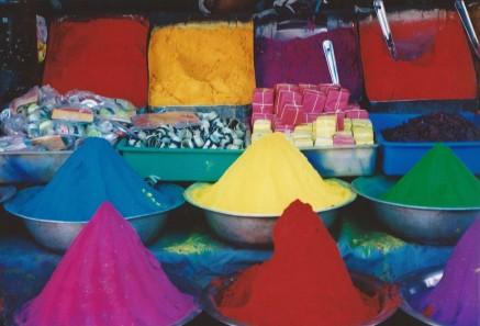 Marché indien (mars 2003)