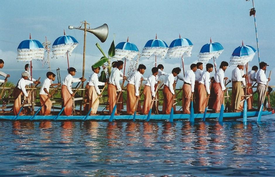 Fête du lac Inlé, Birmanie (octobre 2005)