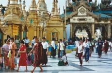 Shewadagon en fête (octobre 2005)