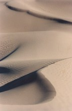 Dunes ondulées, vallée du Drâa, Maroc