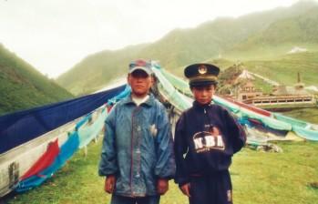 Massif de l'Amdo, Tibet Oriental (août 2004)