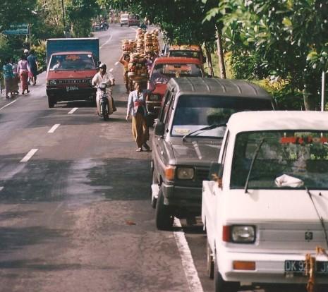 Offrandes, Bali (mai 2001)