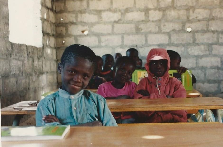 Ecole de brousse, Casamance, Sénégal, 1998
