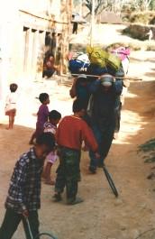 Village Gurung, Népal (mars 2000)