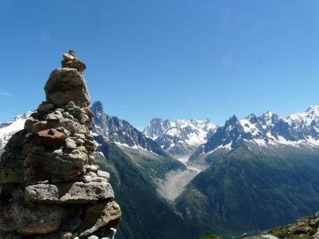 Vue du Lac Blanc, Haute-Savoie (juillet 2014)